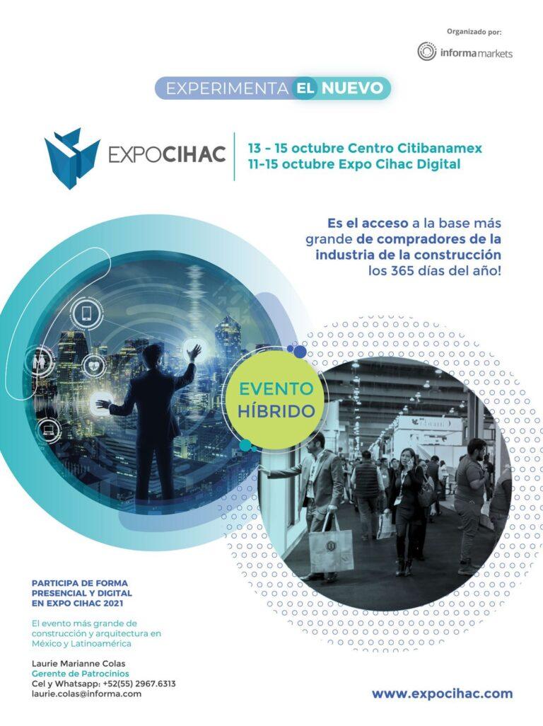 ANUNCIO EXPO CIHAC_EL CERRAMIENTO