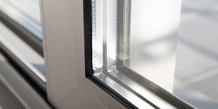 Terrassentür mit Mehrfachverglasung